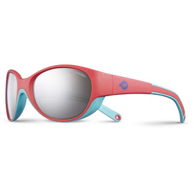 Julbo Kids 4-6Y Lily Spectron 3+ Sunglasses Coral/Turquoise-Gray Flash Silver